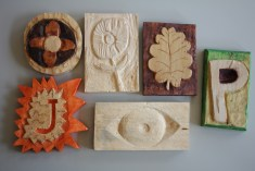 Finished relief carvings