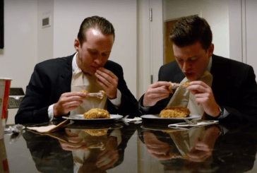 Trump Bros Episode 5- Eric and Donald Trump Jr. Eat Chicken For 8 minutes and 5 Seconds (Web Series)