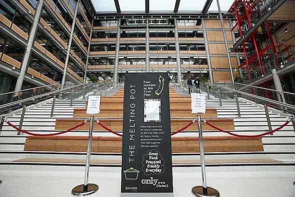 Brent Civic Centre interior