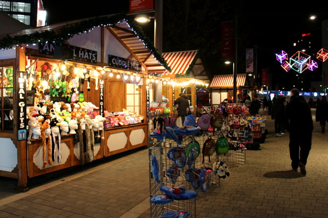 Wembley Christmas market gifts