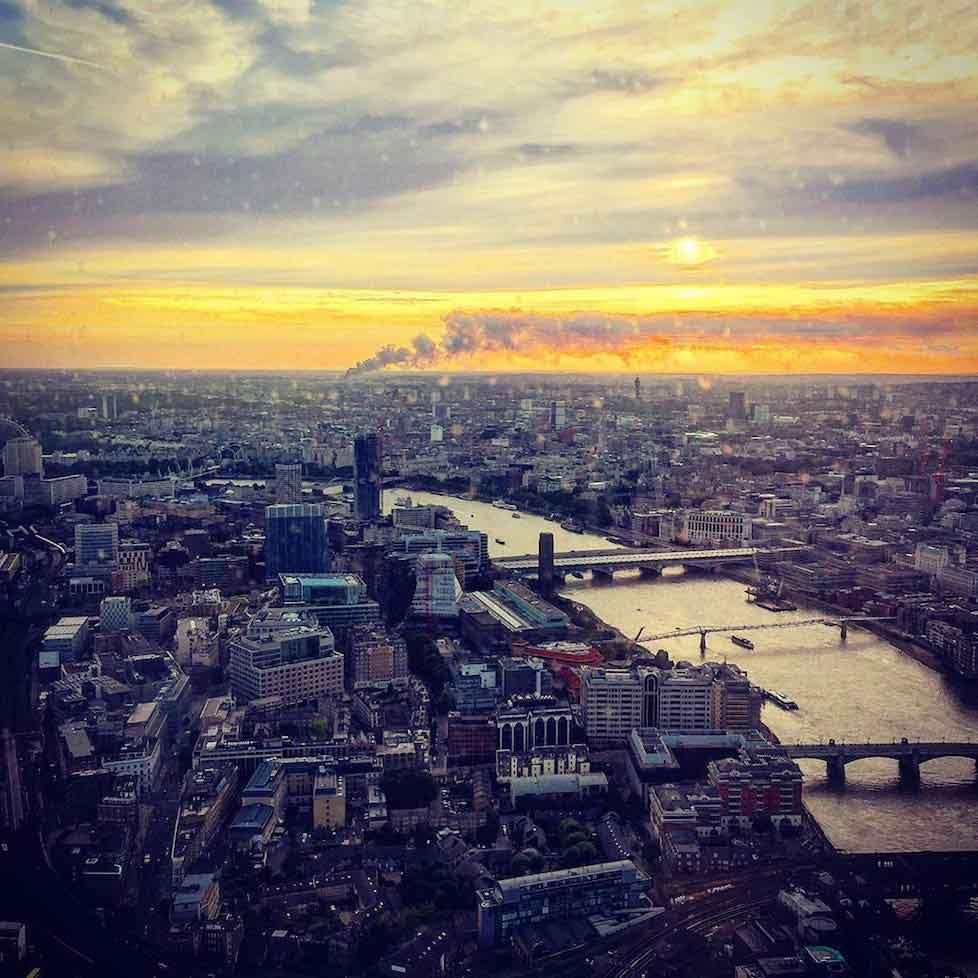 Perivale fire seen across London