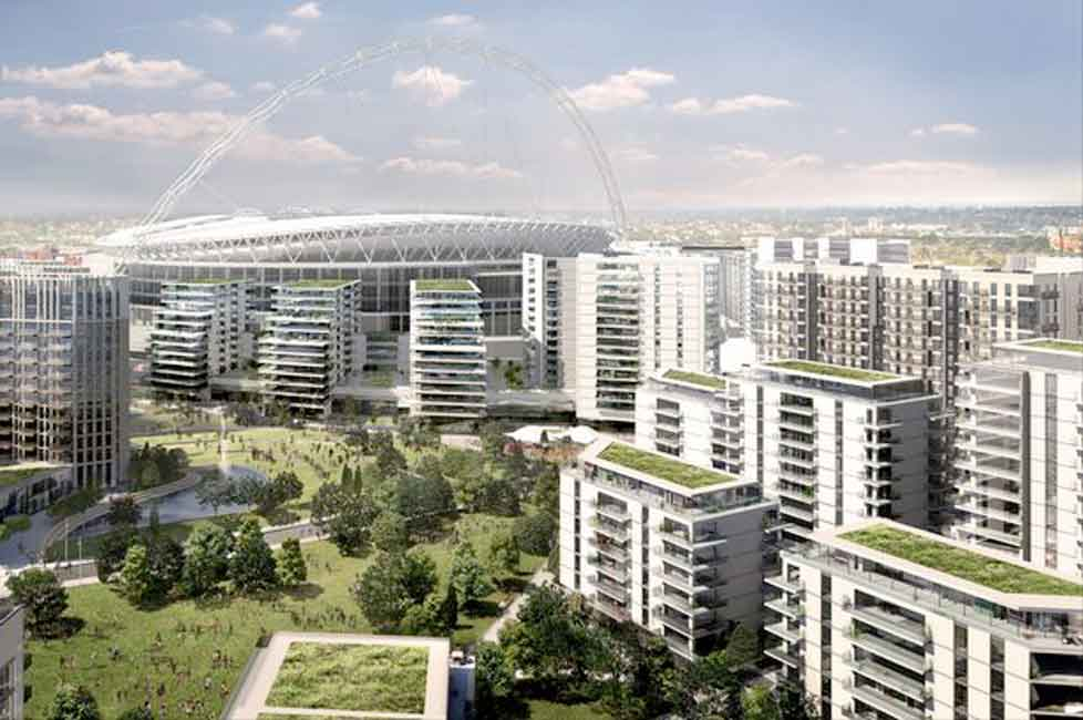 Goodbye Wembley stadium, north-west London skyline to change forever