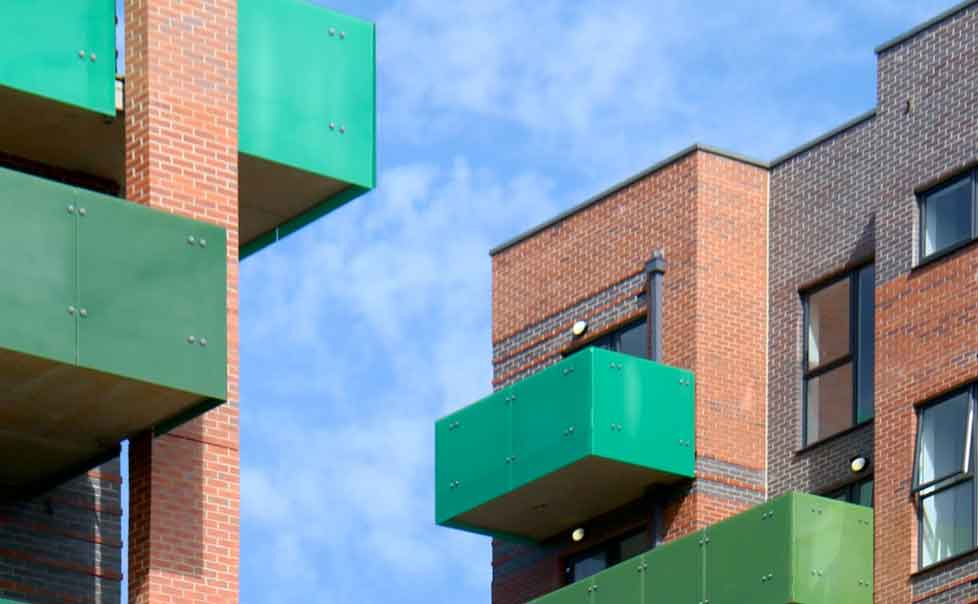Apartments behind Wembley Park tube wins award