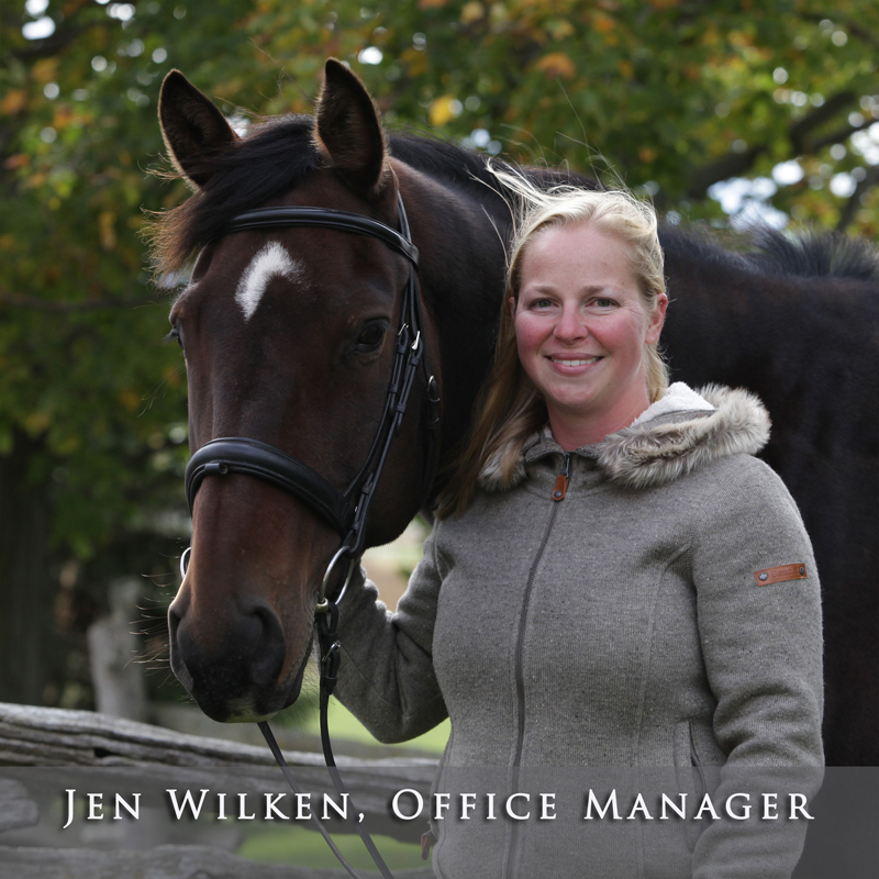 Jen Wilken, Office Manager