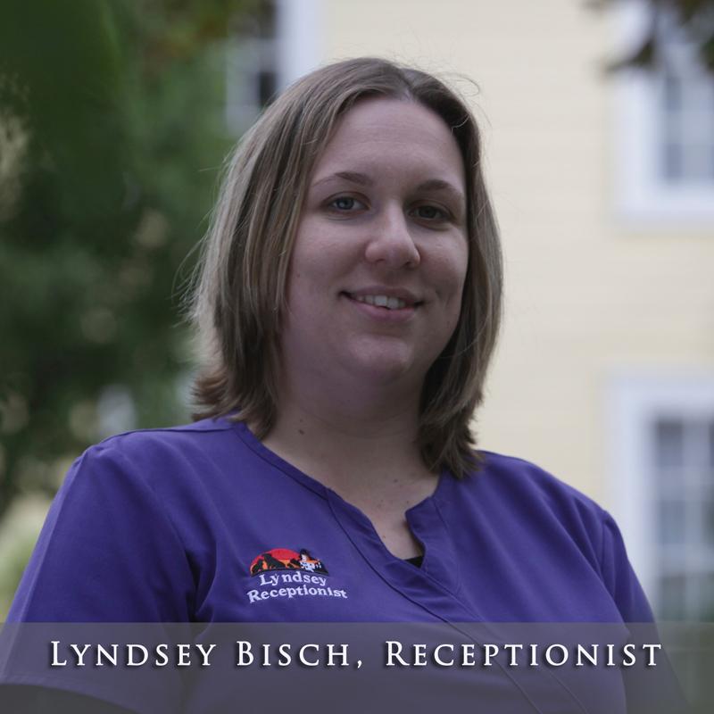 Lyndsey Bisch, Receptionist