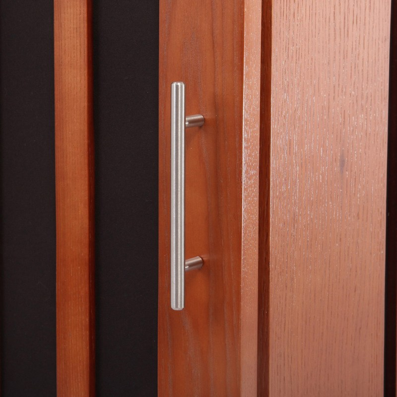 brown door handle square