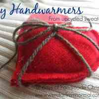 DIY Handwarmers --12 Days of Handmade Christmas