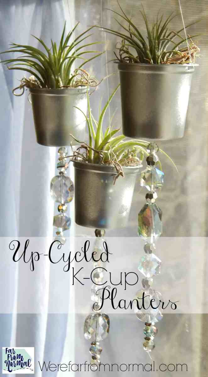 Up-Cycled K-Cup Planters