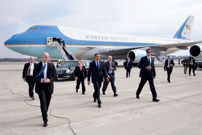 Secret Service protect the President