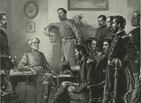The Surrender At Appomattox