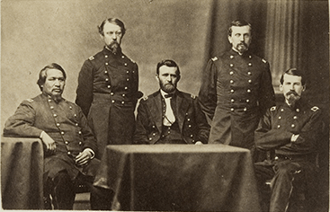 General Ulysses S. Grant and Staff