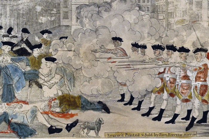 an analysis of the boston massacre and propaganda The boston massacre wasn't quite a massacre, as many people are aware however, it has gone down in history as one of the best examples of propaganda around.