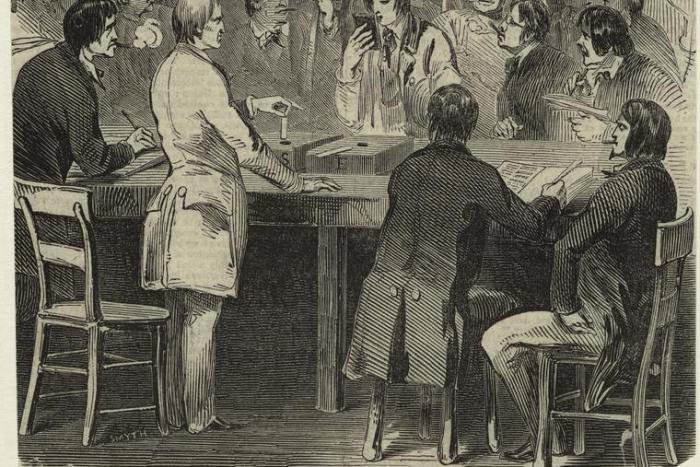 Balloting for President 1844