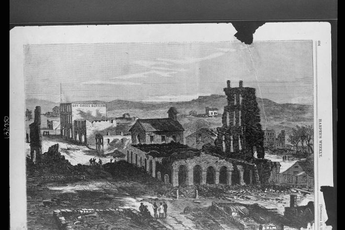 The Ruins of Lawrence, Kansas, 1863 (Photo: Library of Congress)