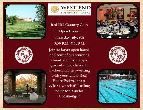 Red Hill CC Open House 2015