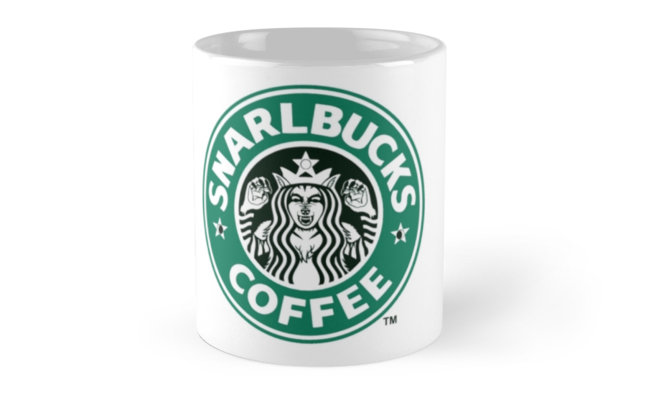 Cassandra Aponte Snarlbucks Mug