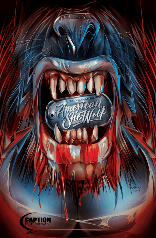 American She-Wolf Poster