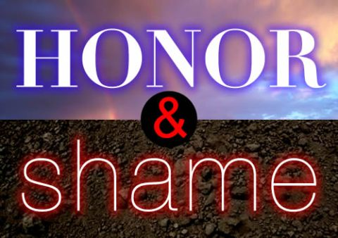 honor and shame graphic