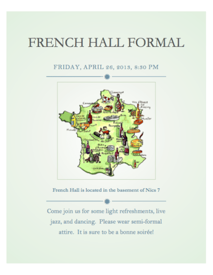 French Hall Formal