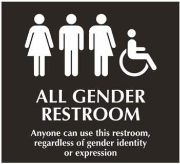 Image result for women have a right to their own bathroom