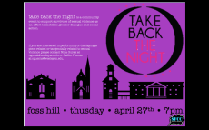 Shining the Spotlight on Take Back the Night