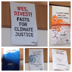 Liveblog: A fast for climate justice