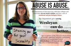 Abuse is Abuse: Students for Consent and Communication Demand Policy Changes