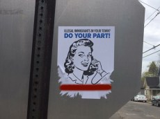 White Supremacist Posters Appear Around Campus