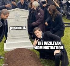 A Wesleying Goodbye