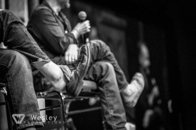 Sean Astin and Billy Boyd- Fantasy Con 2014-9707
