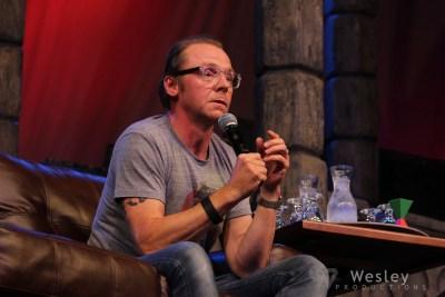 Simon Pegg SLC Fantasy Con 2014 -9748