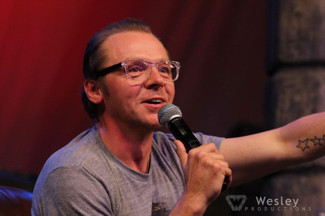 Simon Pegg SLC Fantasy Con 2014 -9751