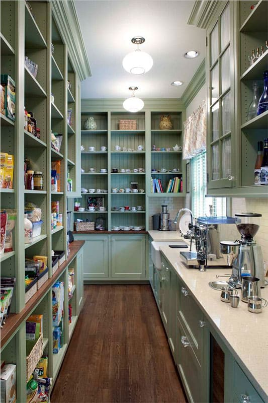 Beautiful large amazing pantry