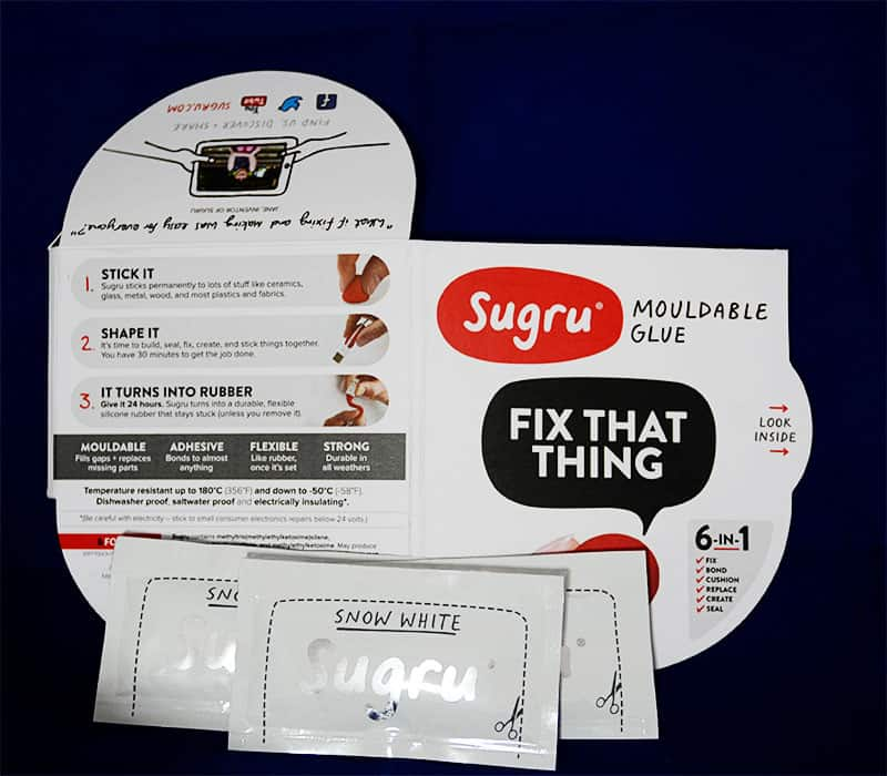 sugru mouldable glue makes glass lid jars airtight