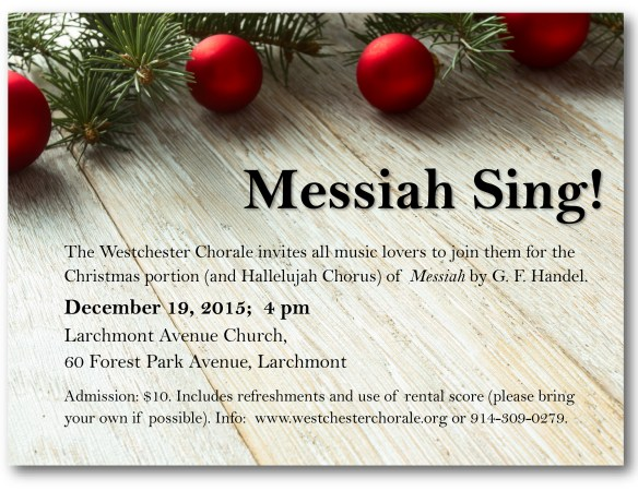 Messiah Sing Flier 2 even more corrected