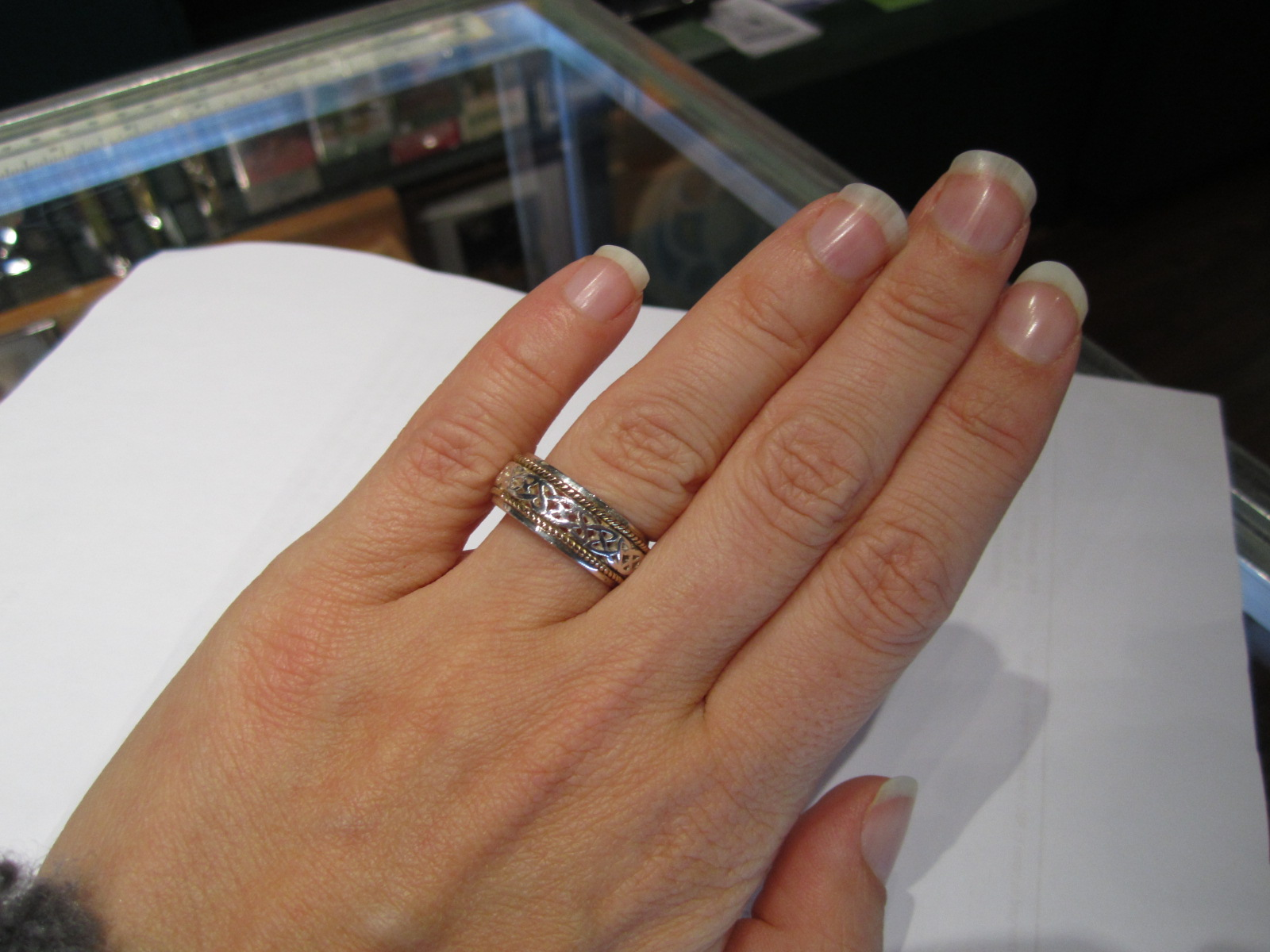 love lesbian wedding bands This is the ring we ve chosen although this one is not in my size We couldn t be happier it s beautiful Celtic and best of all the total price will