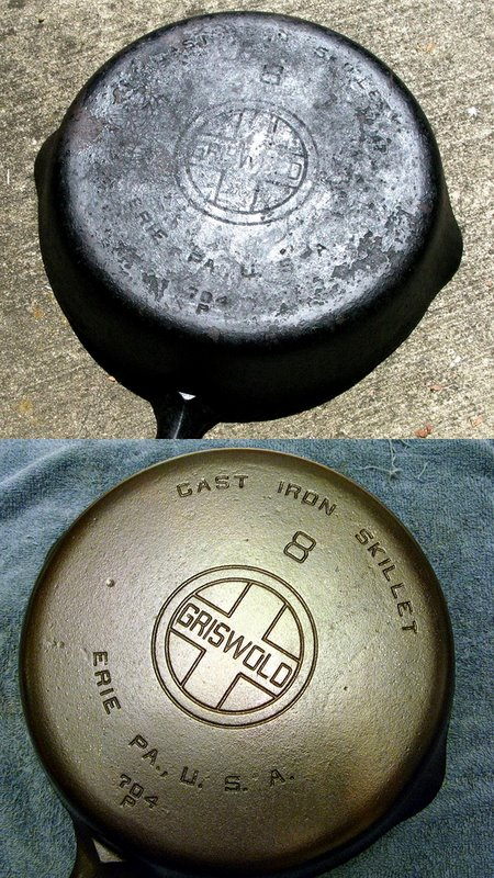 cleaning and re seasoning cast iron pans west county explorers club. Black Bedroom Furniture Sets. Home Design Ideas