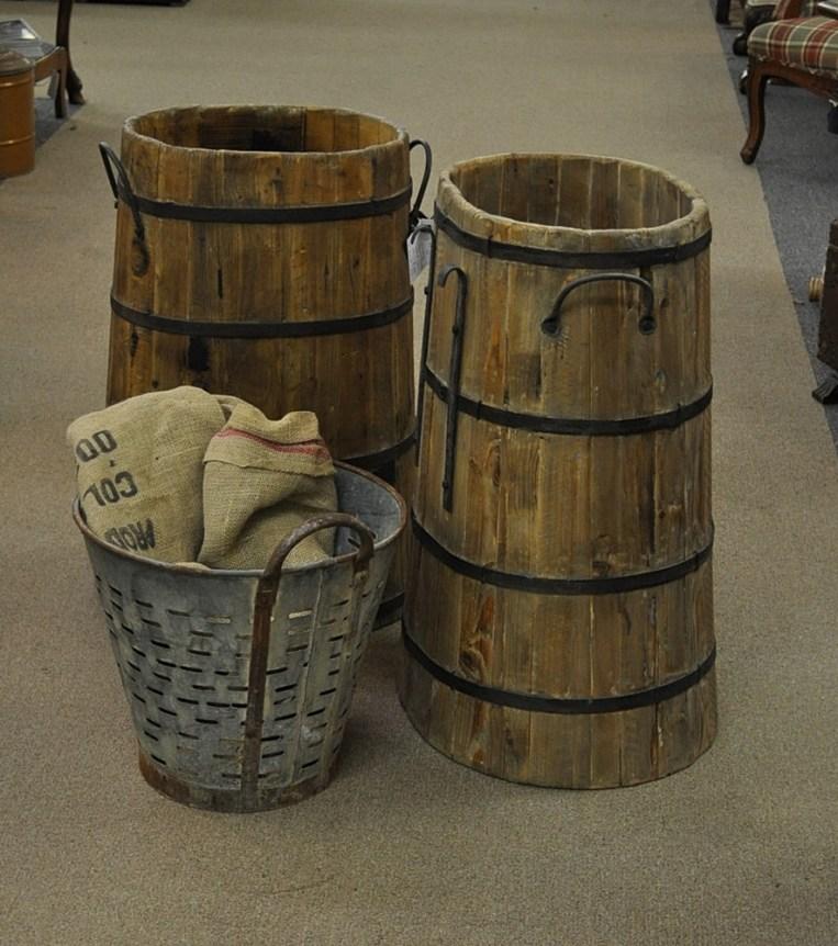 Grape Harvest Barrels