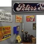 Vintage Tin Advertising Signs