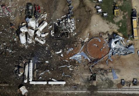 Arson Investigation Launched for 2013 Fertilizer Plant Explosion
