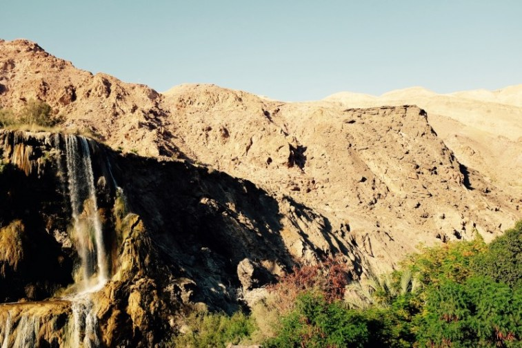 Die heißen Quellen von Ma'In, Jordanien