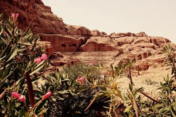 Römische Theater, Petra, Jordanien