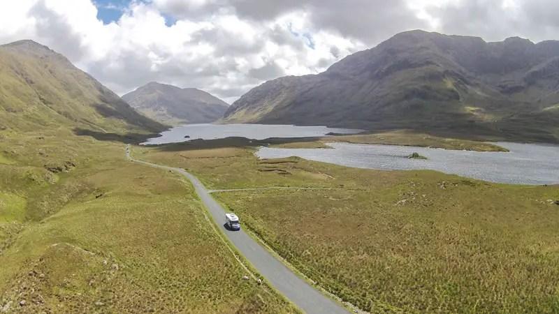 connemara irland drone drohne