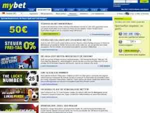 Der aktuelle Sportwetten Bonus vom Wettanbieter MyBet