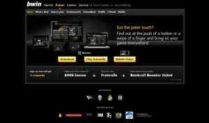 Online Poker Angebot von Bwin