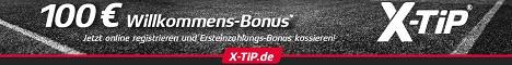 X-Tipp Einzahlungsbonus