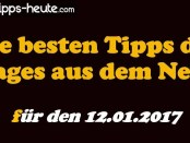 Sportwetten Tipps 12.01.2017
