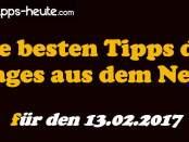 Sportwetten Tipps 13.02.2017