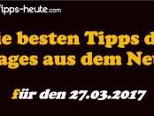 Sportwetten Tipps 27.03.2017
