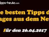 Sportwetten Tipps 26.04.2017